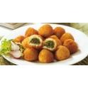 Patatas Rellenas de Espinacas y Queso de Cabra